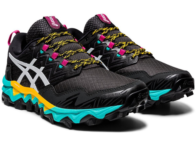 asics Gel-FujiTrabuco 8 G-TX Shoes Women, black/white